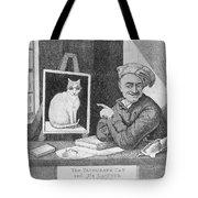 The Favourite Cat And De La Tour The Painter Tote Bag
