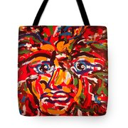 The Fearless Warrior Tote Bag
