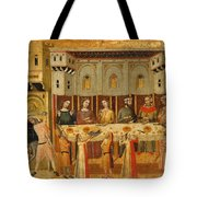 The Feast Of Herod And The Beheading Of The Baptist Tote Bag