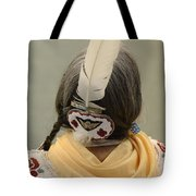 Pow Wow The Feather Tote Bag