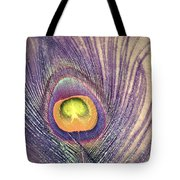 The Feather In Colour Tote Bag