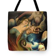 The Feathered Serpent  Tote Bag