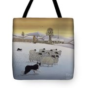 The Fells In Winter Tote Bag