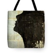 The Female Silhouette . Tote Bag