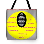 The Feminine Tote Bag by Eikoni Images
