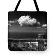 The Fence Tote Bag