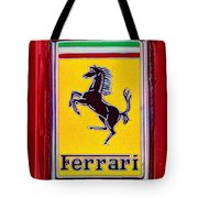 The Ferrari Logo Tote Bag