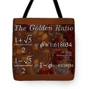 The Fibonacci Equation Catus 1 No. 1 H  Tote Bag