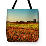 The Field Of Flowers Tote Bag