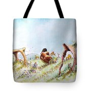 The Fields Of Artemis Tote Bag