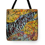 The Fierce Eel Tote Bag