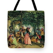 The Fiesta At Granada Tote Bag