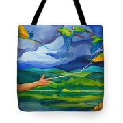 The Fifth Day Tote Bag