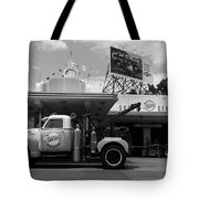 The Fill-in Station Tote Bag by Michael Tesar