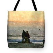 The Final Sunset Tote Bag
