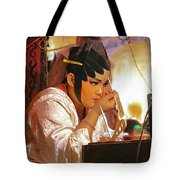 The Final Touch-chinese Opera Tote Bag