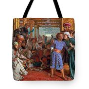 The Finding Of The Savior In The Temple Tote Bag by William Holman Hunt