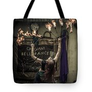 The Fire Dancer Tote Bag