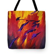 The Fire Of Life Tote Bag
