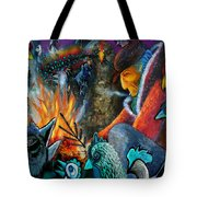 The Fire Tender Tote Bag