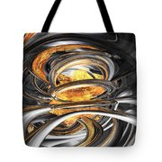 The Fire Within Abstract Tote Bag
