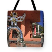 The Firebird At The Bechtler Museum In Charlotte Tote Bag