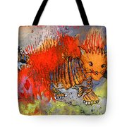 The Firecat Tote Bag