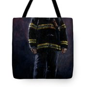 The Firefighter  Tote Bag