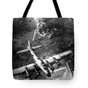 The First Big Raid By The 8th Air Force Tote Bag
