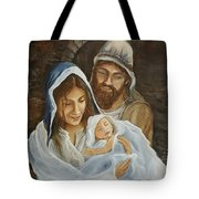The First Christmas Tote Bag