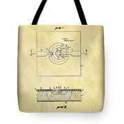 The First Computer Chip Patent Tote Bag