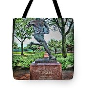 The First Football Game Monument Tote Bag