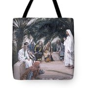 The First Shall Be The Last Tote Bag by Tissot