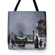 The First Snow, 1877 Tote Bag
