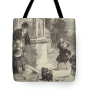 The First Snowball Tote Bag