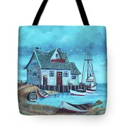 The Fish House Tote Bag