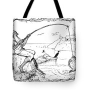 The Fisherman And His Wife Tote Bag