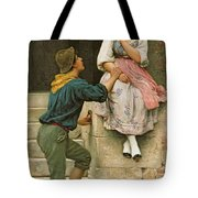 The Fishermans Wooing From The Pears Annual Christmas Tote Bag