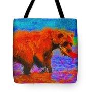 The Fishing Bear - Da Tote Bag