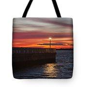 The Fishing Pier Tote Bag