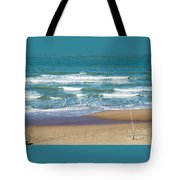 The Fishing Pole Tote Bag