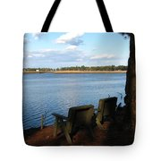 The Fishing Spot Tote Bag
