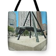 The Fist Poster Tote Bag