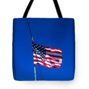 The Flag Of Usa  Tote Bag