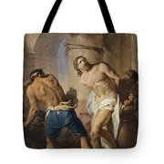 The Flagellation Of Christ Tote Bag