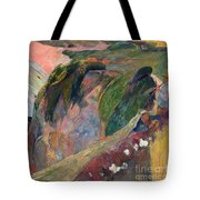The Flageolet Player On The Cliff Tote Bag