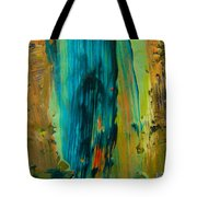 The Flair Of The Flame Abstract Tote Bag