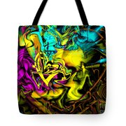 The Flame In My Heart Tote Bag