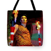 The Flame Thrower Tote Bag