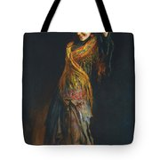 The Flamenco Dancer Tote Bag